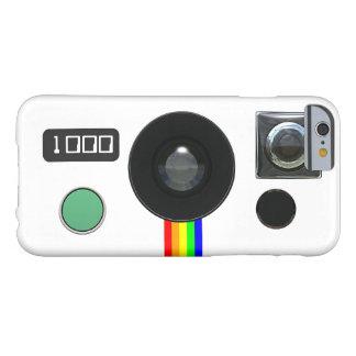 Cámara instantánea retra funda de iPhone 6 barely there