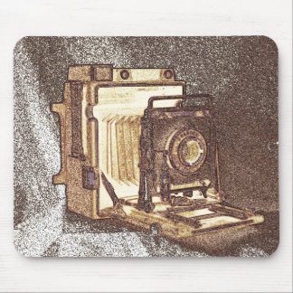 Cámara Mousepad de la prensa del vintage