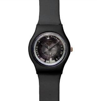 Cámara negra vieja reloj
