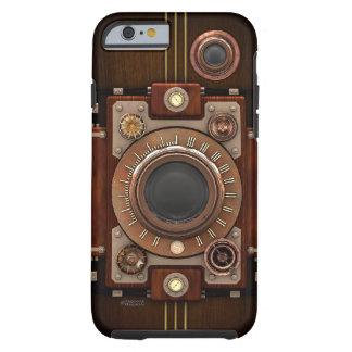 Cámara No.1B de Steampunk del vintage Funda De iPhone 6 Tough