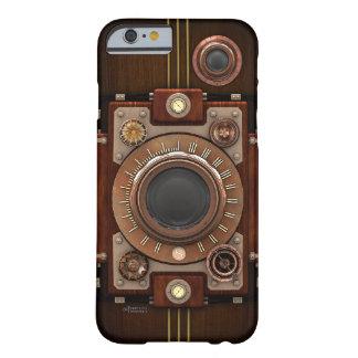 Cámara No.1B de Steampunk del vintage Funda De iPhone 6 Barely There