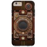 Cámara No.1B de Steampunk del vintage Funda De iPhone 6 Plus Tough