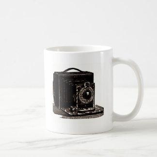 Cámara óptica de Poco de la fotografía antigua Tazas De Café