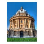 Cámara Oxford de Radcliffe Tarjeta Postal