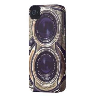 Cámara pasada de moda Case-Mate iPhone 4 protector