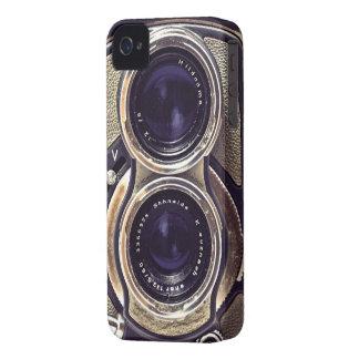 Cámara pasada de moda iPhone 4 Case-Mate protector