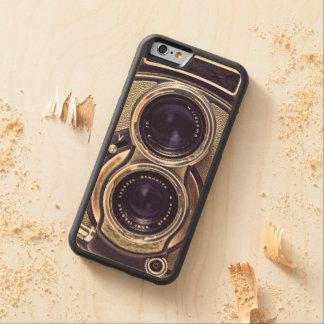 Cámara pasada de moda funda de iPhone 6 bumper arce