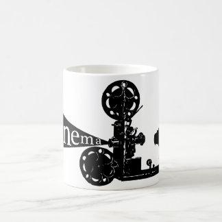 Cámara - película tazas