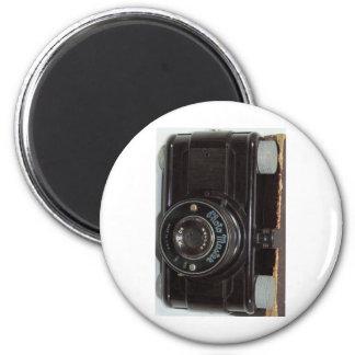 Cámara retra 2 del vintage imán redondo 5 cm