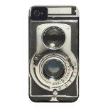 Cámara Rolleiflex del vintage Case-Mate iPhone 4 Protector