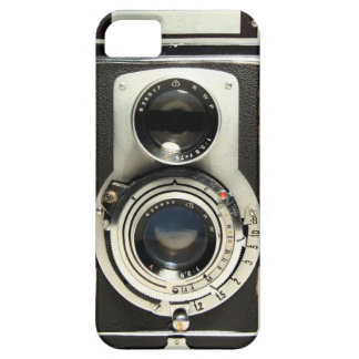 Cámara Rolleiflex del vintage iPhone 5 Fundas
