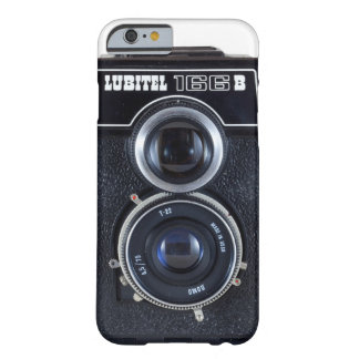 Cámara rusa del vintage de Lubitel - I6 Funda Barely There iPhone 6