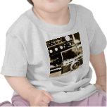 Cámara vieja de la foto camisetas