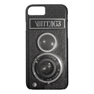 Cámara vieja de la película del vintage funda iPhone 7