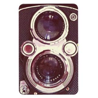 cámara vieja del vintage iman de vinilo