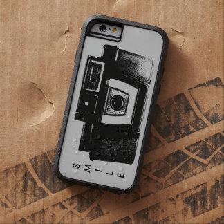 Cámara vieja retra de la película de la sonrisa funda de iPhone 6 tough xtreme