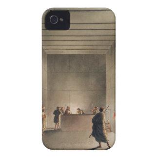 Cámara y sarcófago en la gran pirámide del soldado iPhone 4 Case-Mate protector