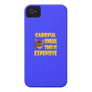 Camarada cuidadoso. Esto es costoso iPhone 4 Case-Mate Protectores