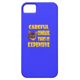 Camarada cuidadoso. Esto es costoso iPhone 5 Carcasa