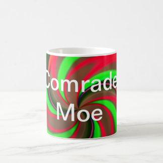 Camarada Moe Taza Básica Blanca