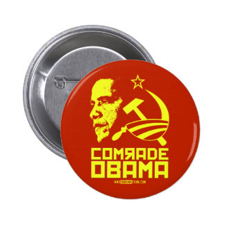 Camarada Obama Pin Redondo De 2 Pulgadas