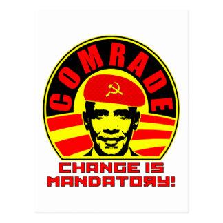 Camarada Obama Postcard Postal