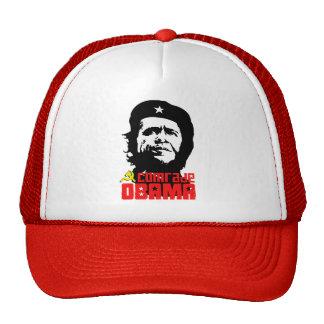 Camarada Obama T-shirt Gorro