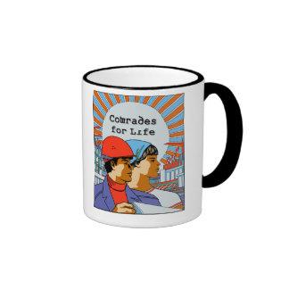 Camaradas para la taza de café soviética de la