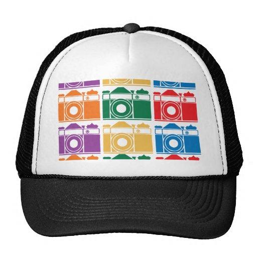Cámaras del arco iris gorros
