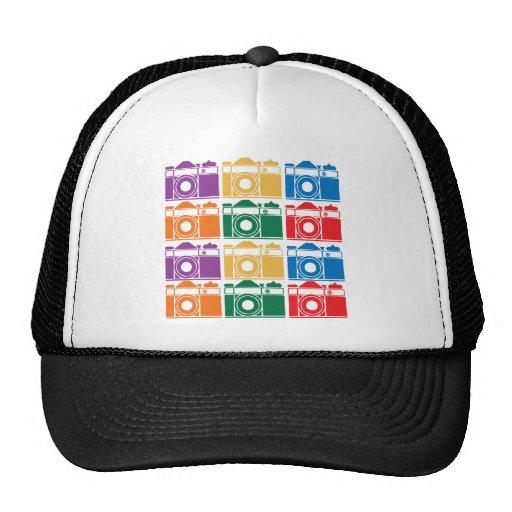 Cámaras del arco iris gorras