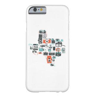 Cámaras del caso del iPhone 6 de Tejas Funda Para iPhone 6 Barely There