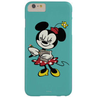 Camarera de Minnie el | del francés Funda Para iPhone 6 Plus Barely There