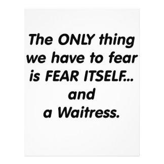 camarera del miedo tarjetas informativas