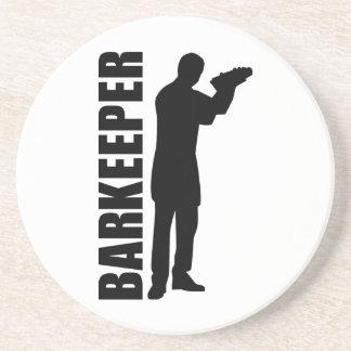 Camarero del Barkeeper Posavasos Diseño