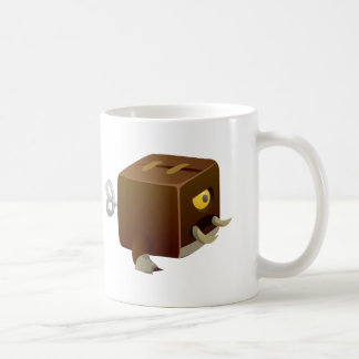 Camarero del infierno de la interferencia cubimal taza de café
