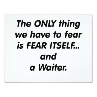 camarero del miedo comunicados personalizados