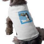 Camarero del pingüino ropa de mascota