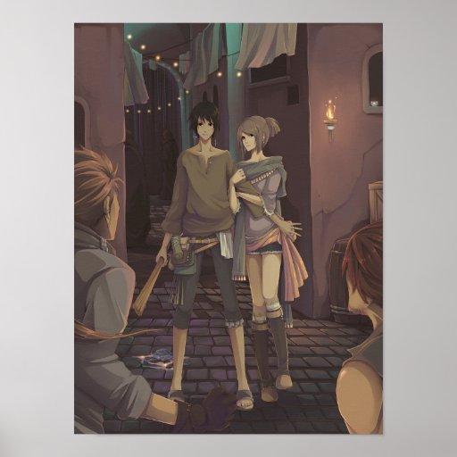 Camarero y el ladrón póster