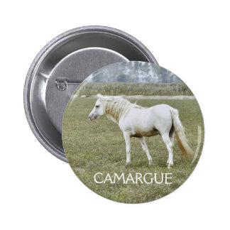 camargue badge pinback button