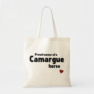 Camargue horse budget tote bag