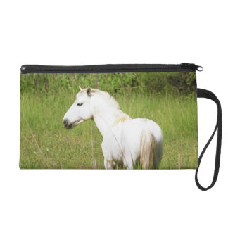 Camargue Horse in the Alpes Cote d'Azur of the Wristlet Purse
