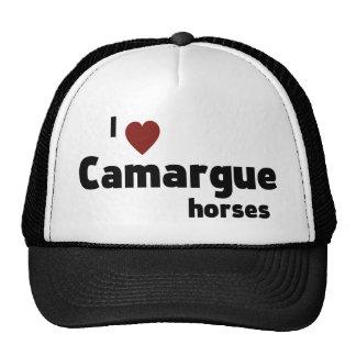 Camargue horses trucker hat