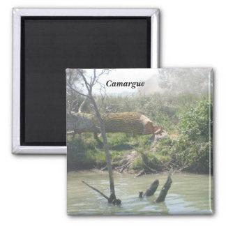 Camargue - imán cuadrado