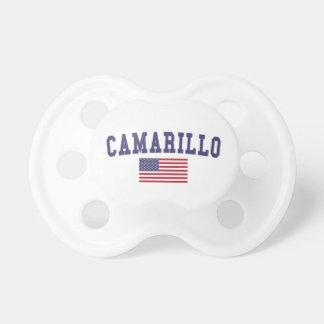 Camarillo US Flag Pacifier