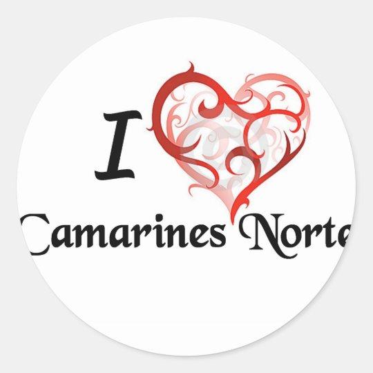 camarines norte stuff classic round sticker