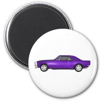 Camaro 1967 SS Final púrpura modelo 3D Iman Para Frigorífico