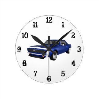 Camaro 1967 SS: Reloj de pared