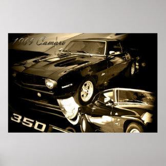 Camaro 1969 impresiones