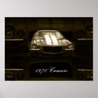 Camaro 1970 póster