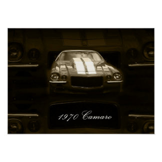 Camaro 1970 posters